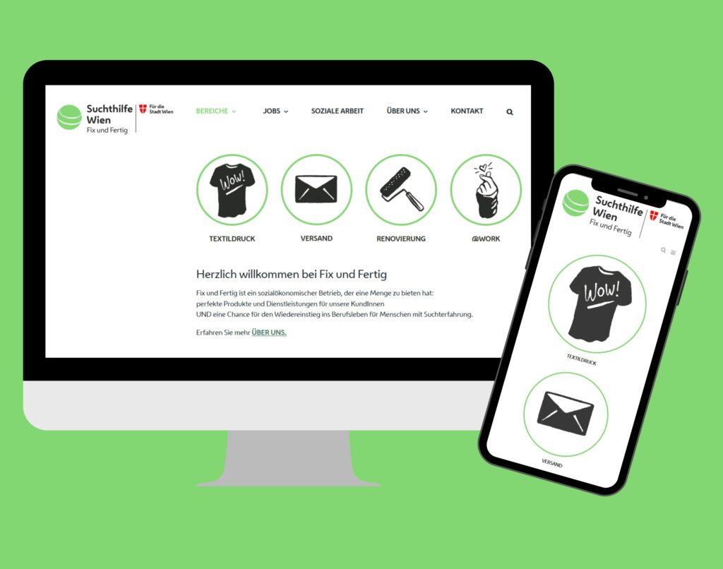 Fix und Fertig hat eine neue Website.