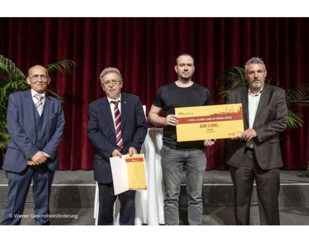 Suchthilfe Wien gewinnt den Wiener Gesundheitspreis 2021